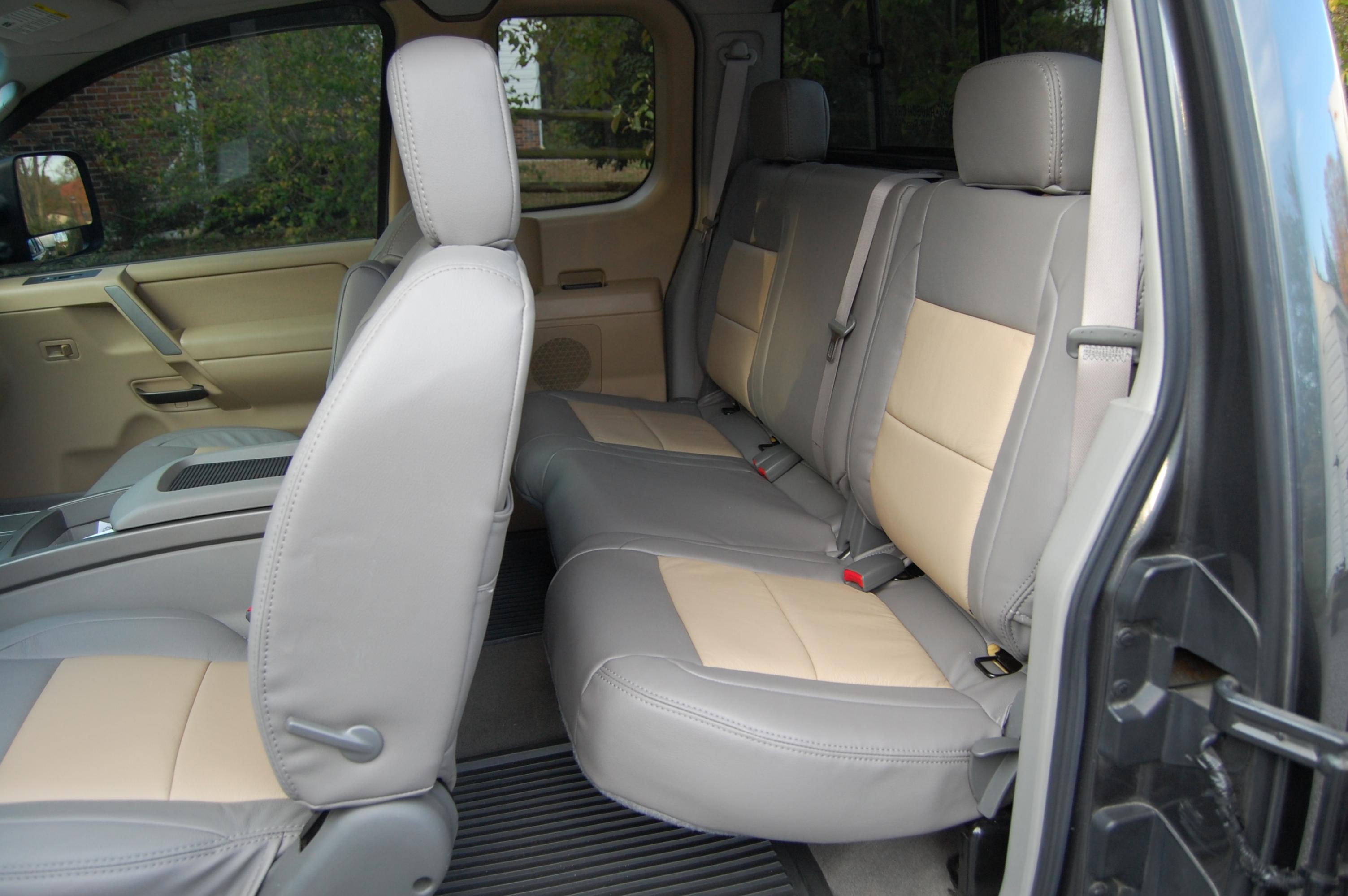 Katzkin Seat Covers Nissan Titan Forum