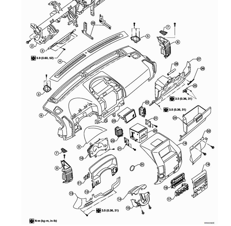 Dash removal instructions - Nissan Titan Forum