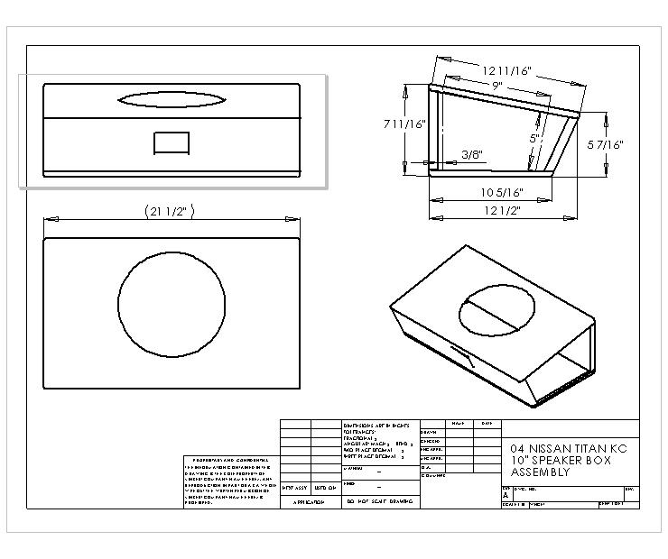 Subwoofer Design Plans Subwoofer Speaker Box Design