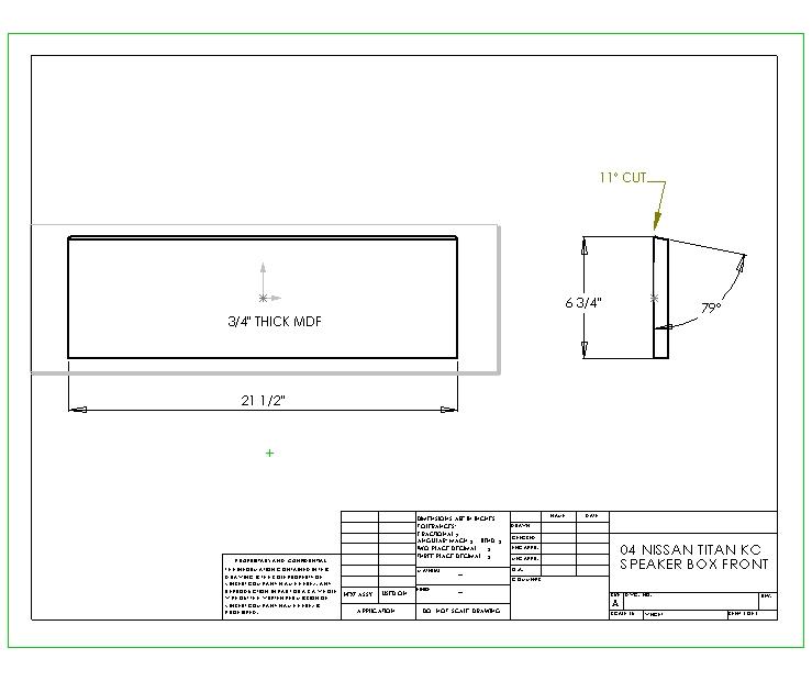 how to  custom kc 10 u0026quot  subwoofer box    u0026 39 04 nissan titan