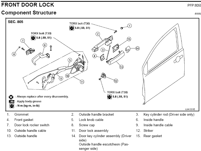 car door latch assembly. Escutcheon Door Curved Privacy Set 2 1 \ Car Latch Assembly 4