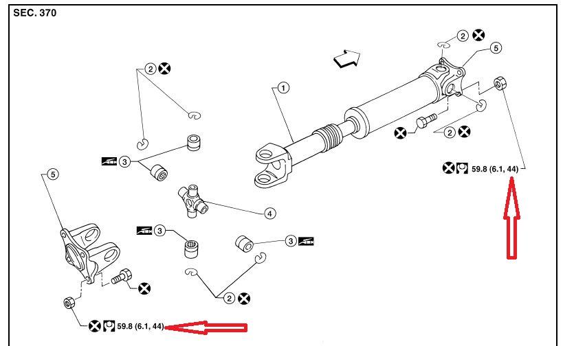 Front driveshaft  torque specs | Nissan Titan Forum