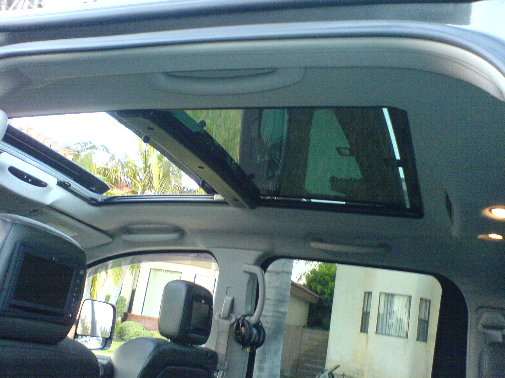 Got Me A Huge Moonroof Nissan Titan Forum