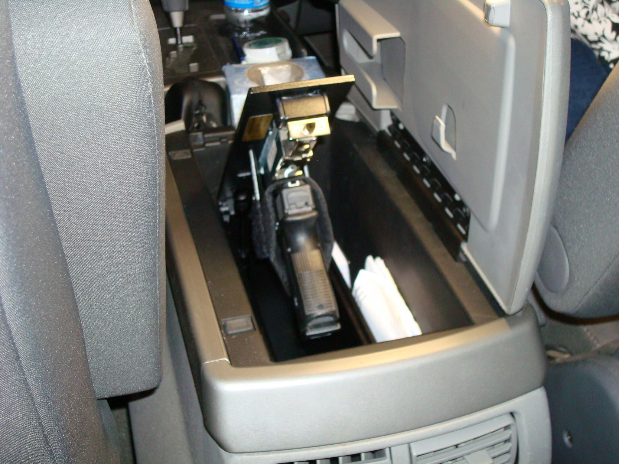 F150 Under Seat Storage >> Truck Firearm Safe - Nissan Titan Forum