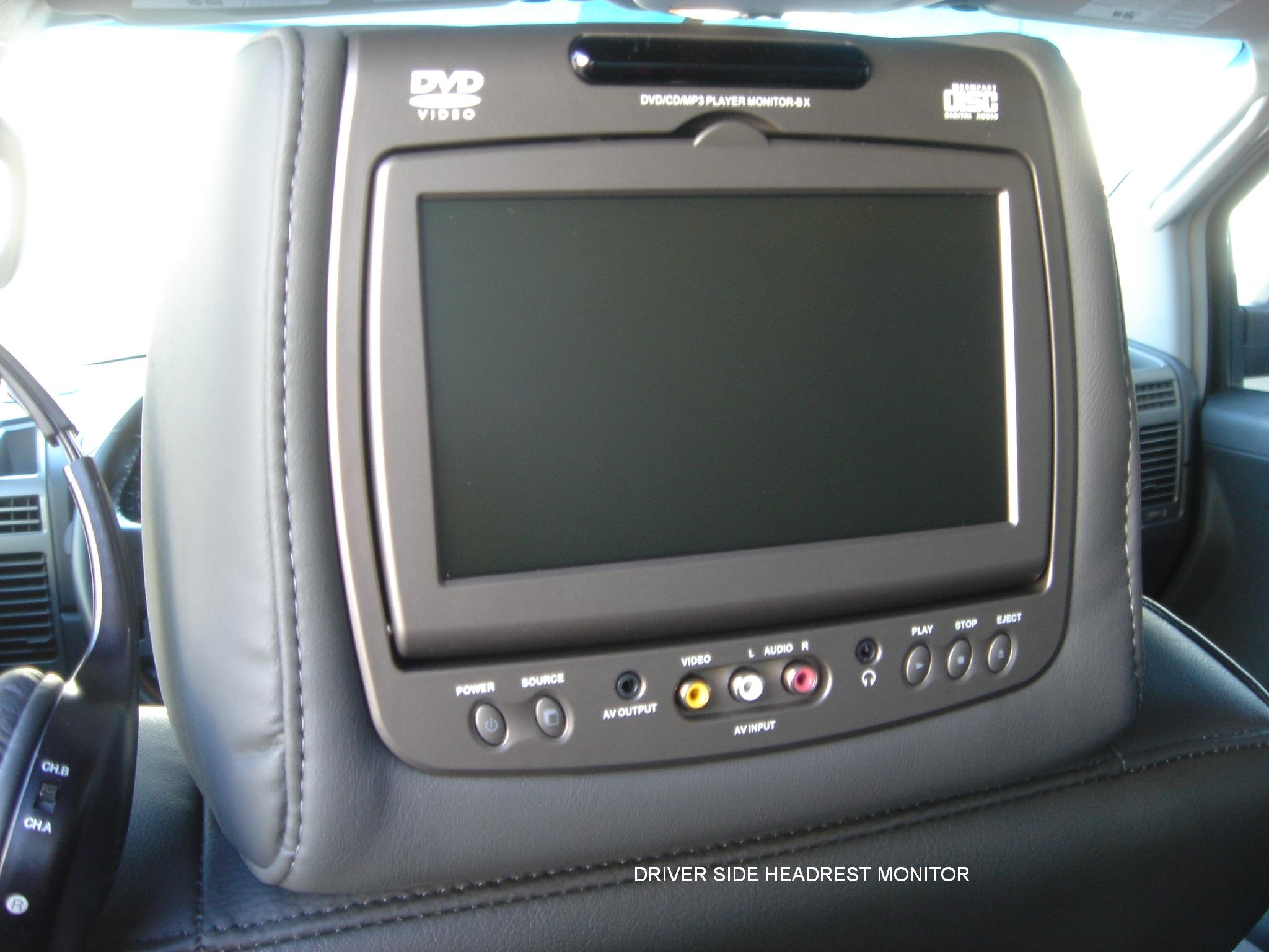 help with invision revolution 2 headrest dvd system nissan titan rh titantalk com