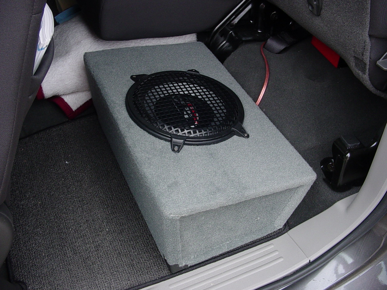 D How Custom Kc Subwoofer Box Nissan Titan King Cab Dsc