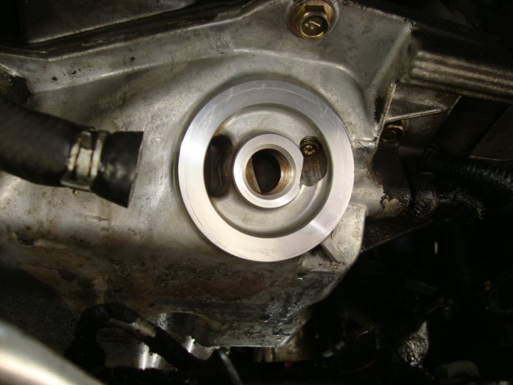 2004 Titan Leak Posterior To Oil Filter Connection Page