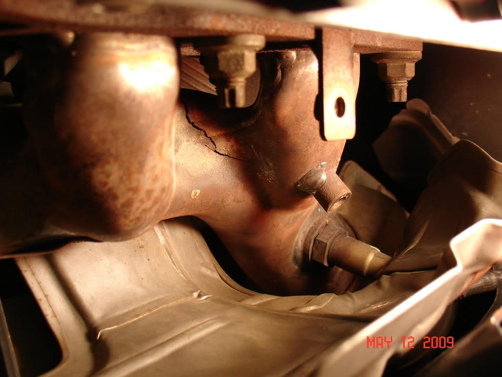 Nissan armada exhaust manifold recall