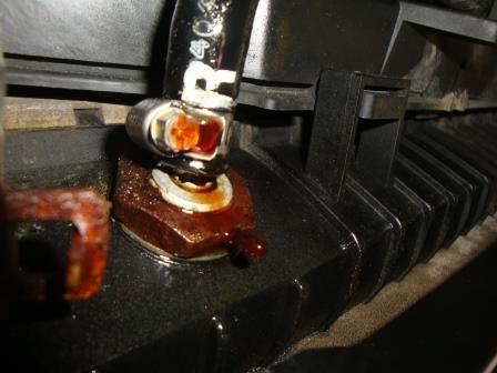 Transmission Cooler Hose Fitting Broken Nissan Titan Forum