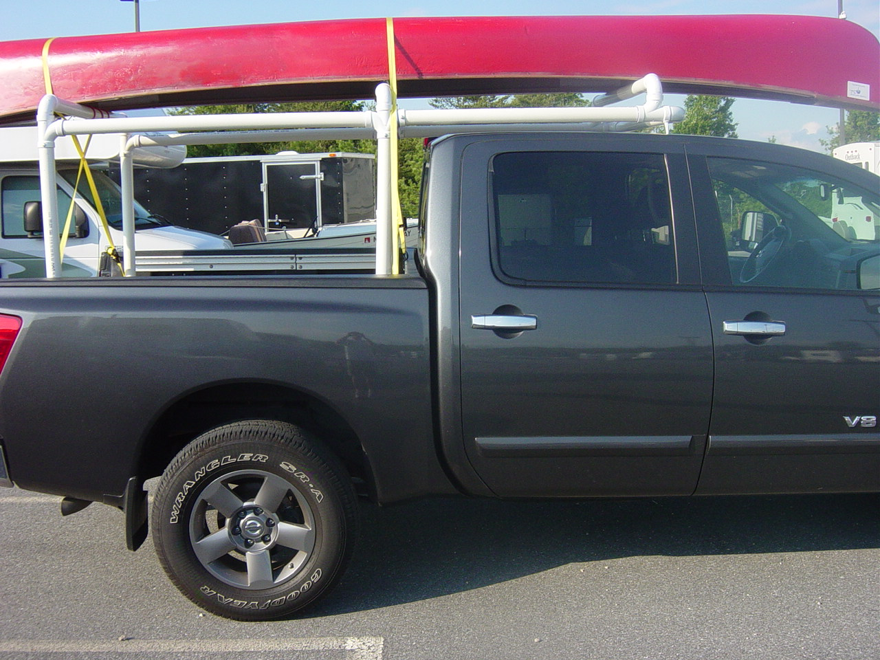 Custom Canoe Rack Nissan Titan Forum