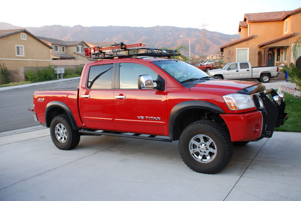 Offroad Roof Rack With Pics Nissan Titan Forum