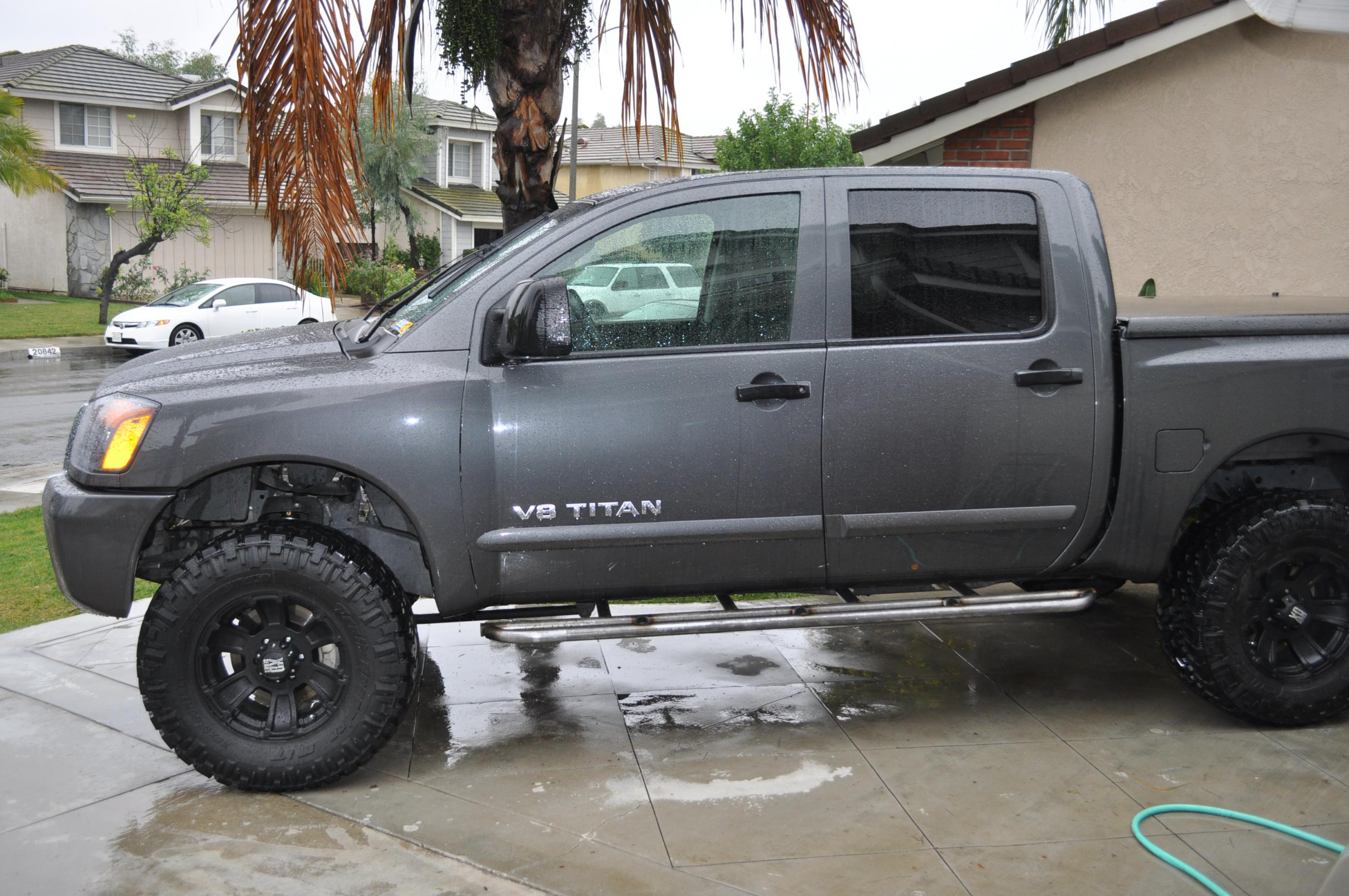 Lifted Nissan Titan >> Rock Slider Fab DONE! - Nissan Titan Forum