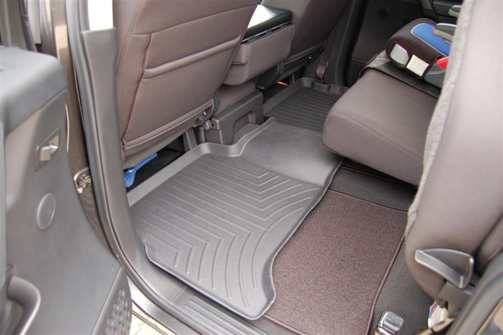 row nissan liners fit black installed mats titan westin wade sure floor