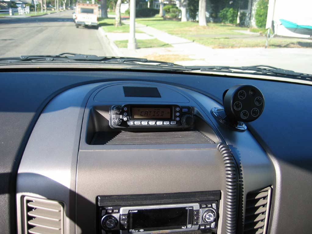 My Ham Radio Install Nissan Titan Forum