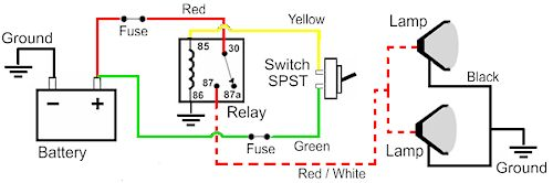 Wiring Diagram For Illuminated Rocker Switch