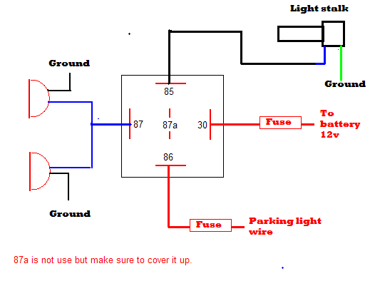Found A Neat Fog Light Wiring Diagram But Whats This readingrat net: Volvo 850 Fog Light Wiring Diagram at e-platina.org