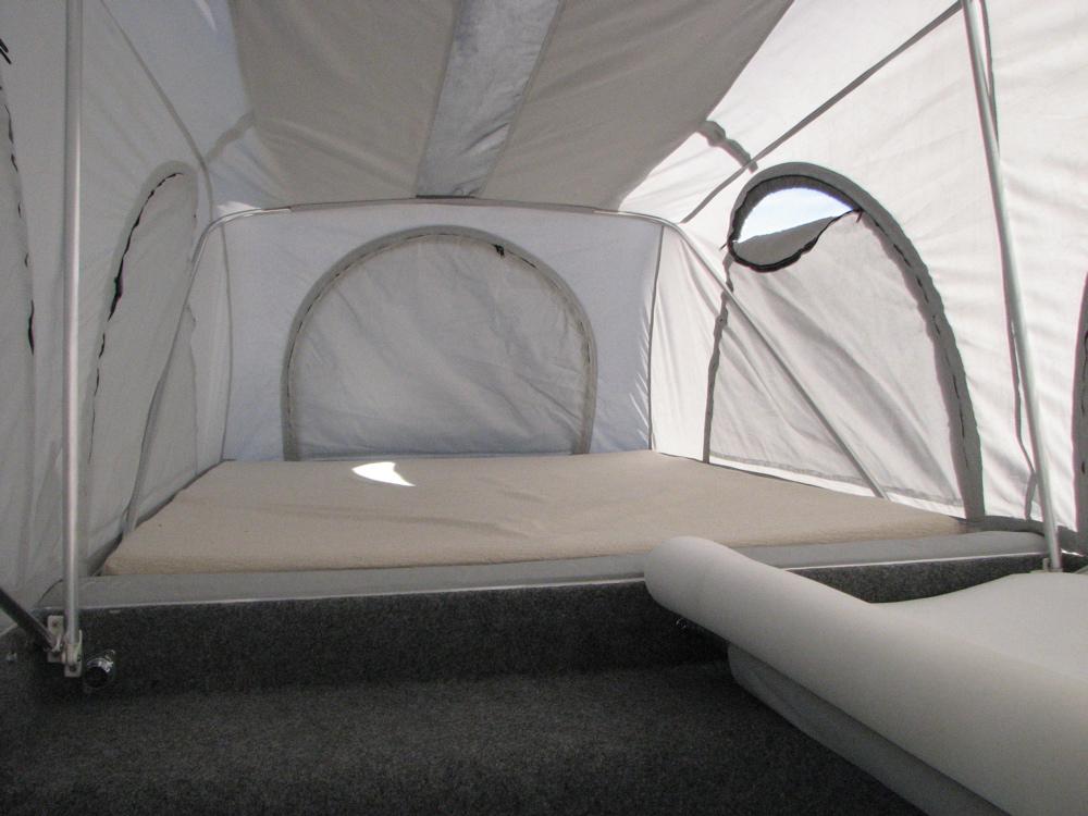 Roof Top Tent Interior
