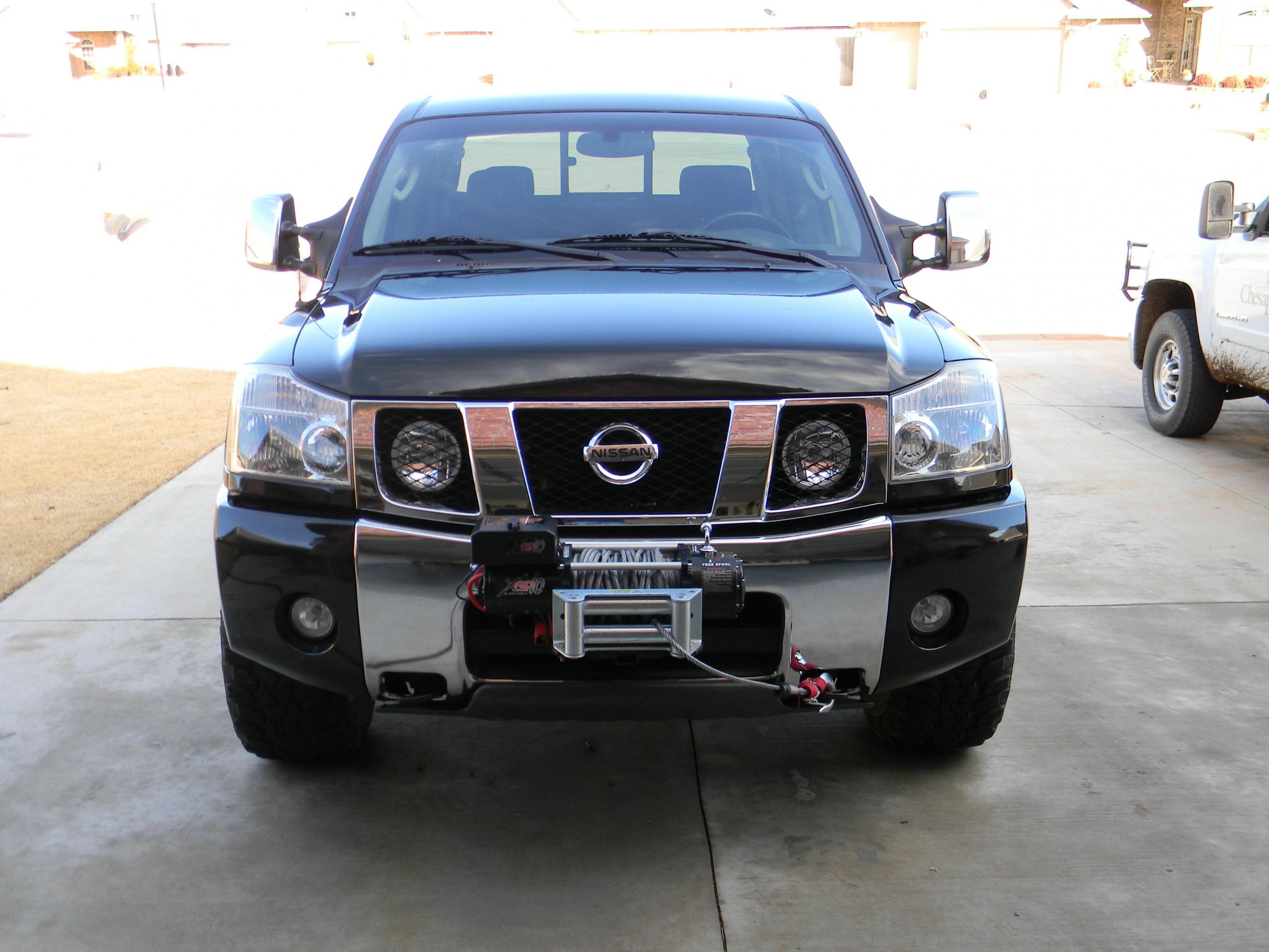 Central Valley Nissan >> PreRunner Bumper with front Hitch Mount - Nissan Titan Forum