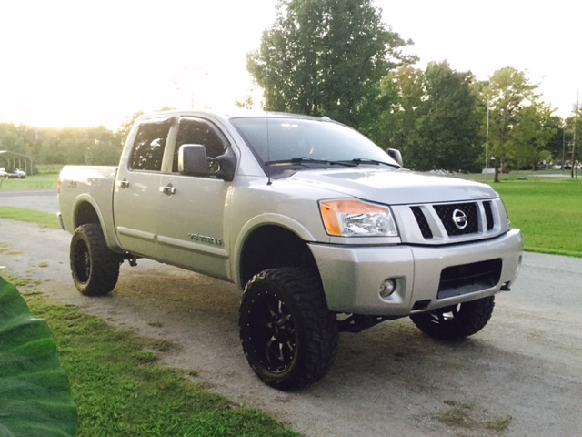 6 Inch lift with 33 or 35's? - Page 2 - Nissan Titan Forum
