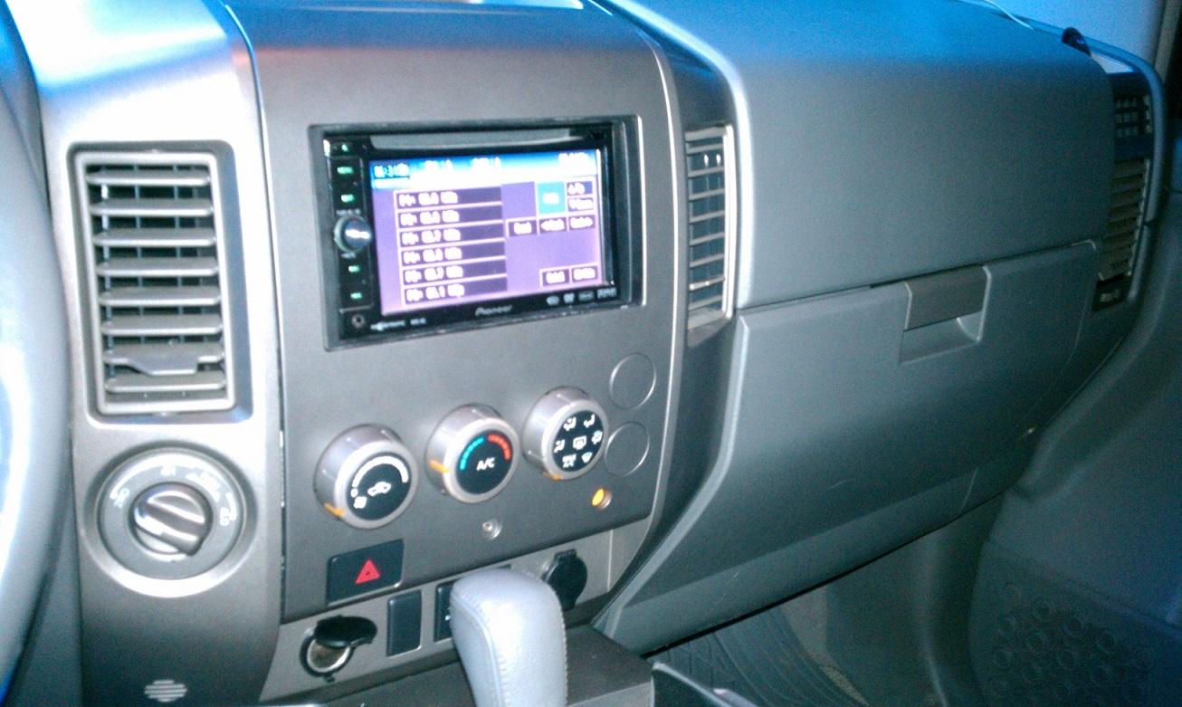 Pioneer Avh P3200bt Installation Nissan Titan Forum Wiring Diagram Imag0036