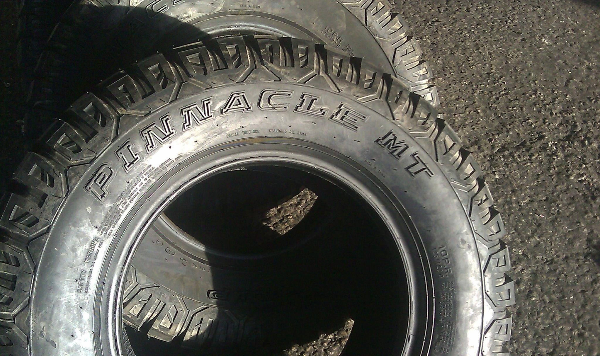 has any one use PINNACLE MT GRIZZLY GRIP tires??-imag0046.jpg