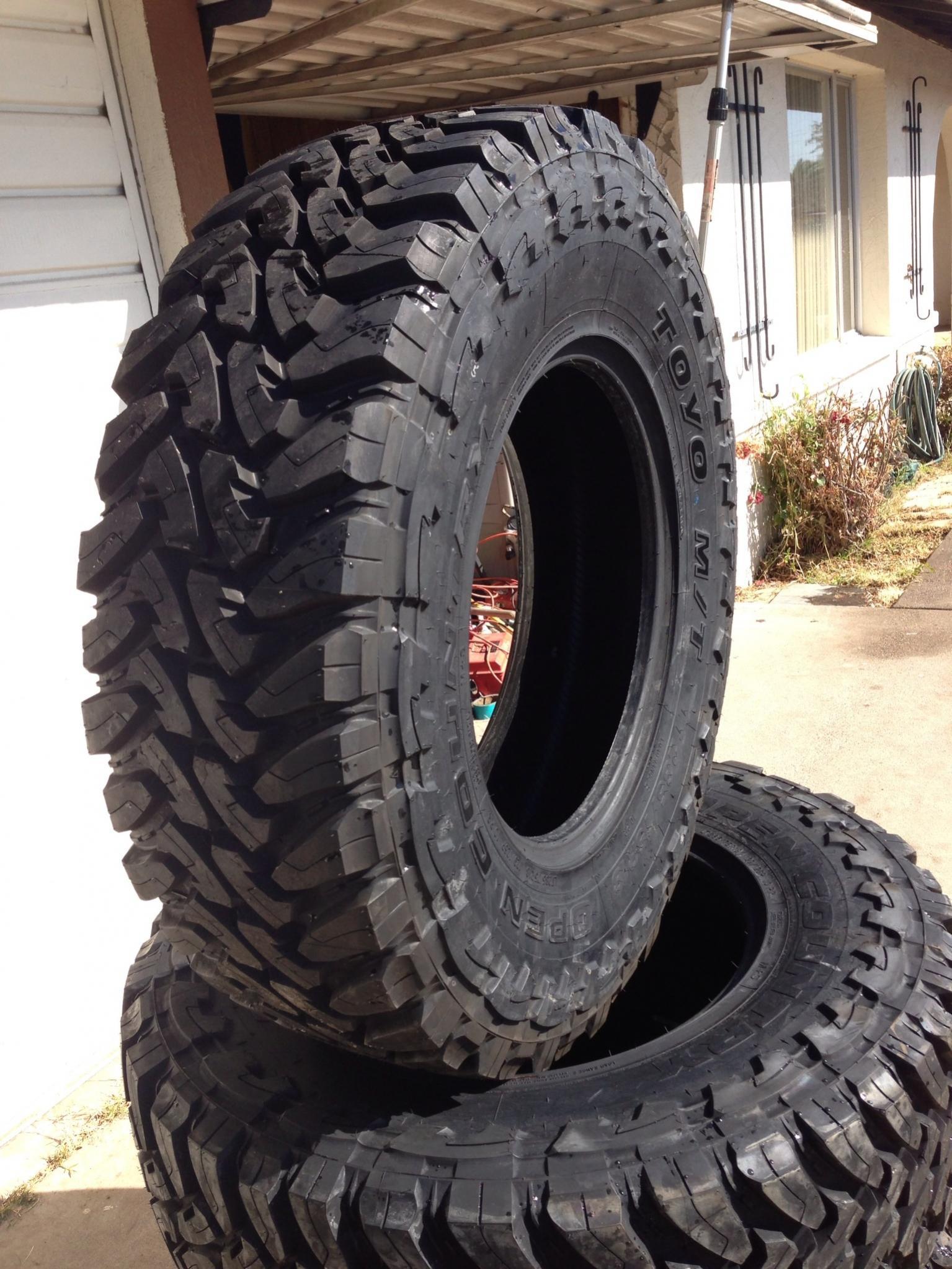 "265 70r17 All Terrain Tires >> Toyo Open Country M/T 35"" 285 75 18 - Nissan Titan Forum"