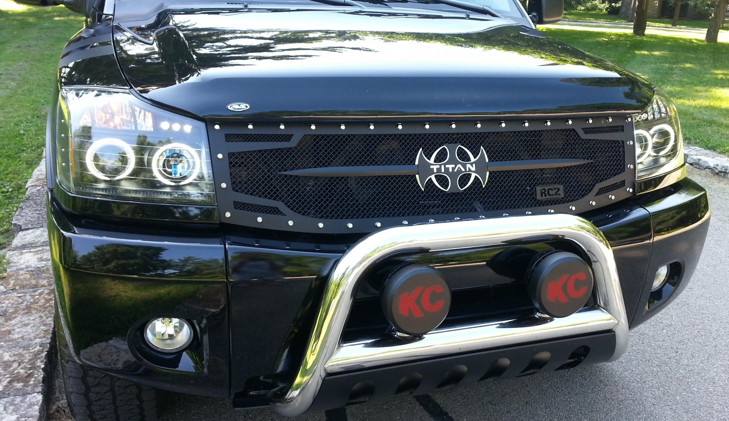 Front Grill Types Nissan Titan Forum
