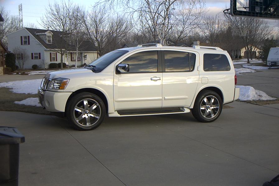 Nissan Armada 2006 Interior >> 22 inch wheels help - Nissan Titan Forum