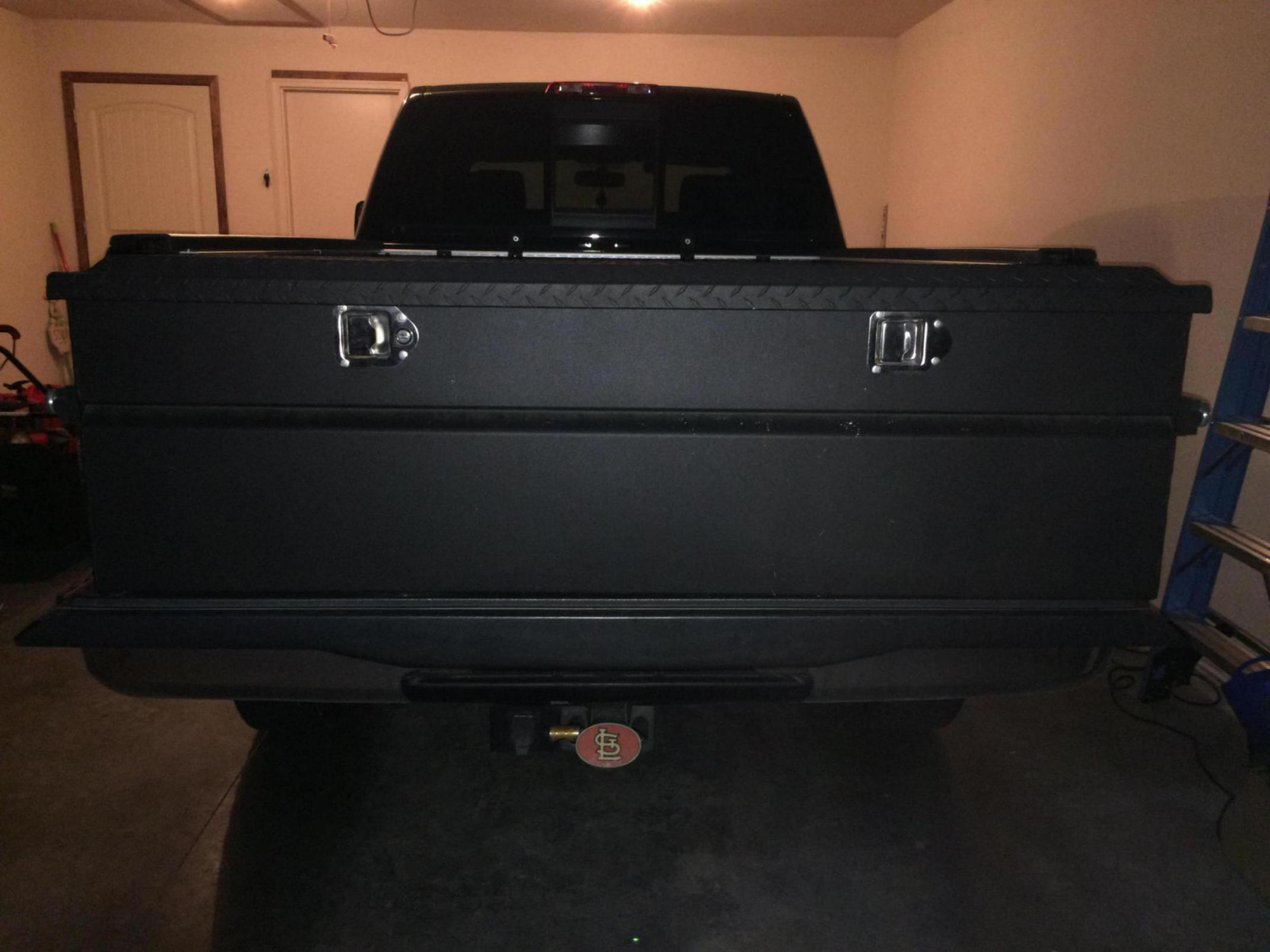 Sliding Truck Bed Tool Box Diamond Plated Lid For Sale Nissan