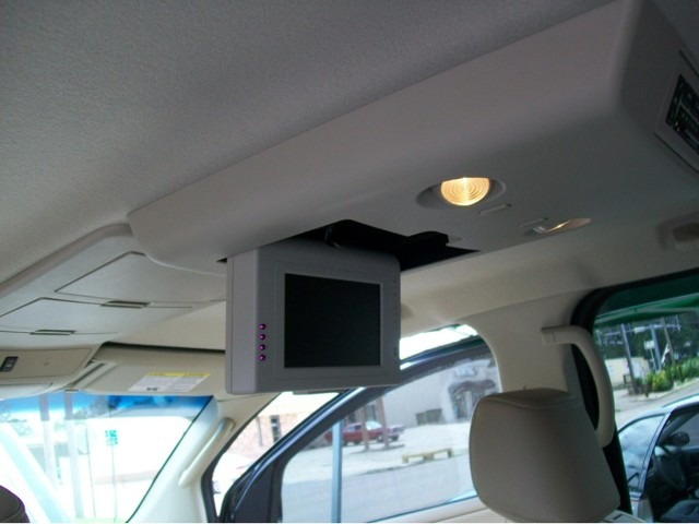 cheap monitor in overhead console
