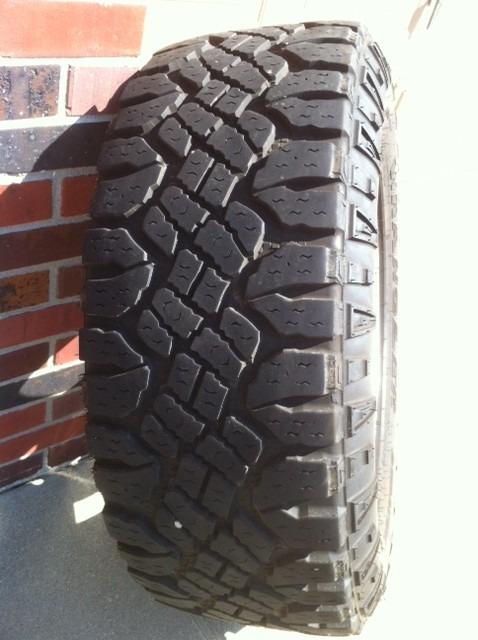 how many miles on duratrac tires nissan titan forum. Black Bedroom Furniture Sets. Home Design Ideas