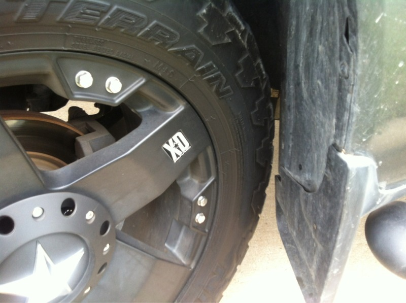 leveling kit and wheel/tire size - Nissan Titan Forum