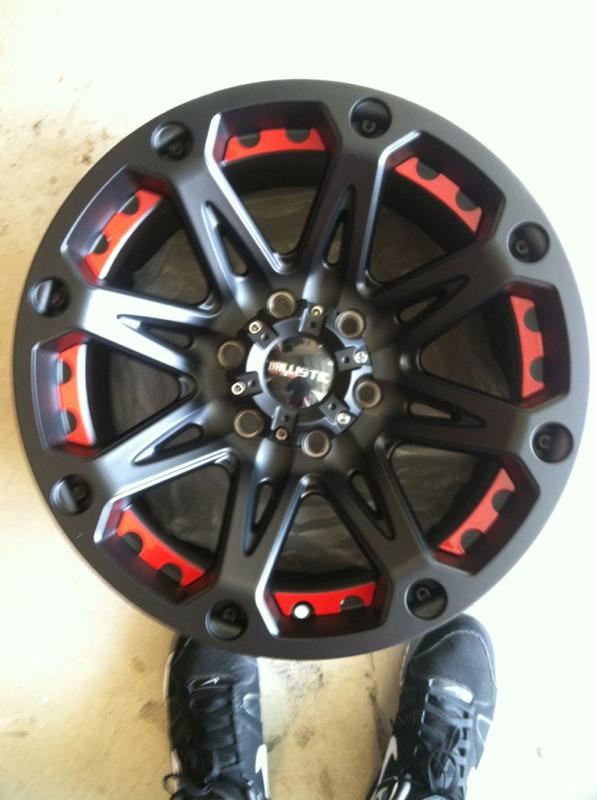 Ballistic Jester Wheels Nissan Titan Forum