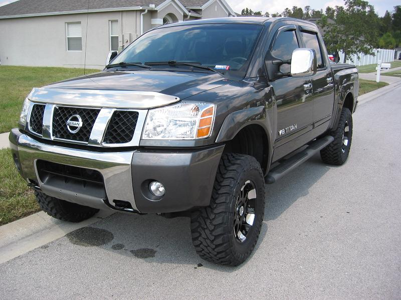 Gear Alloy 711mb And 35 Quot Toyo M T Nissan Titan Forum