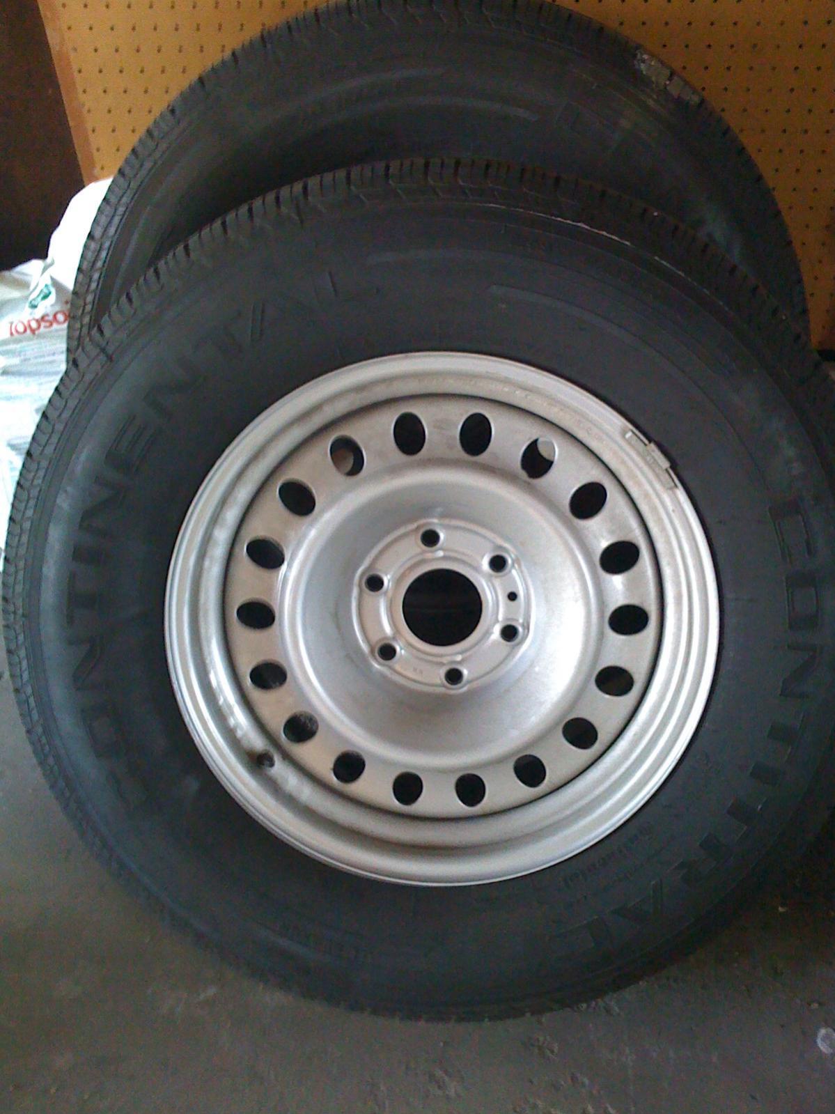 For Sale Titan Steel Tires Nissan Titan Forum