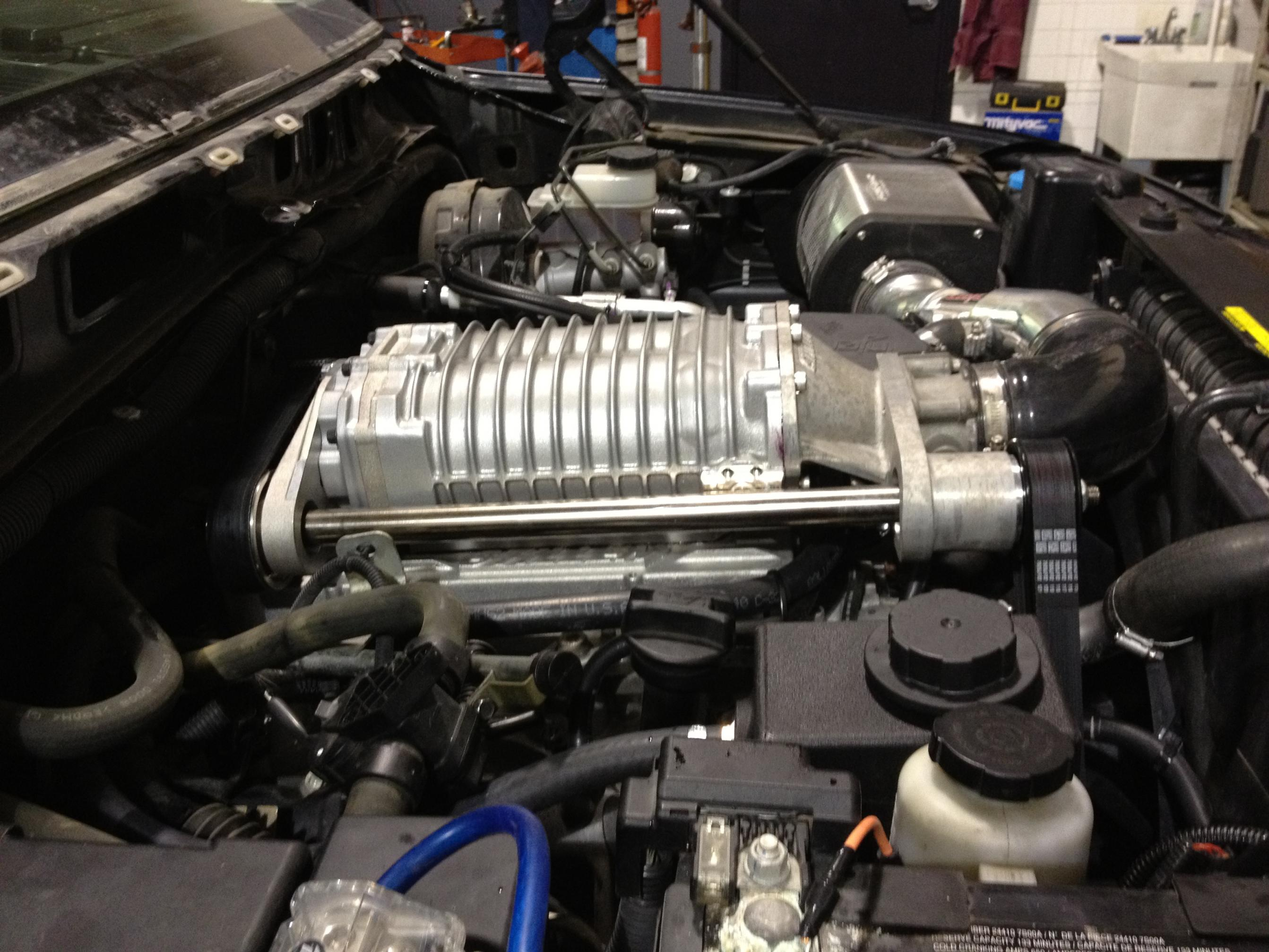 Up-Rev Tuned Supercharged Titan - Nissan Titan Forum