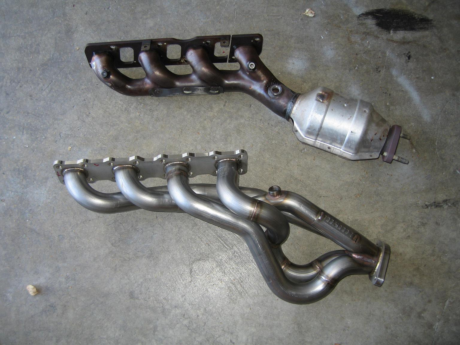 Exhaust Manifold Vs Headers Pictures