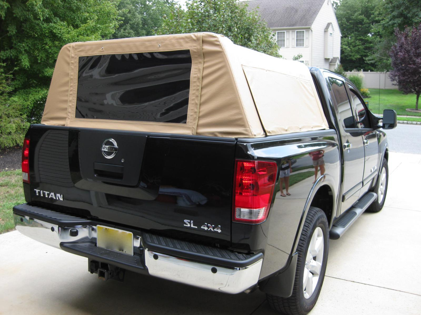 Nissan Frontier Camper Shell Homemade Truck Bed Topper