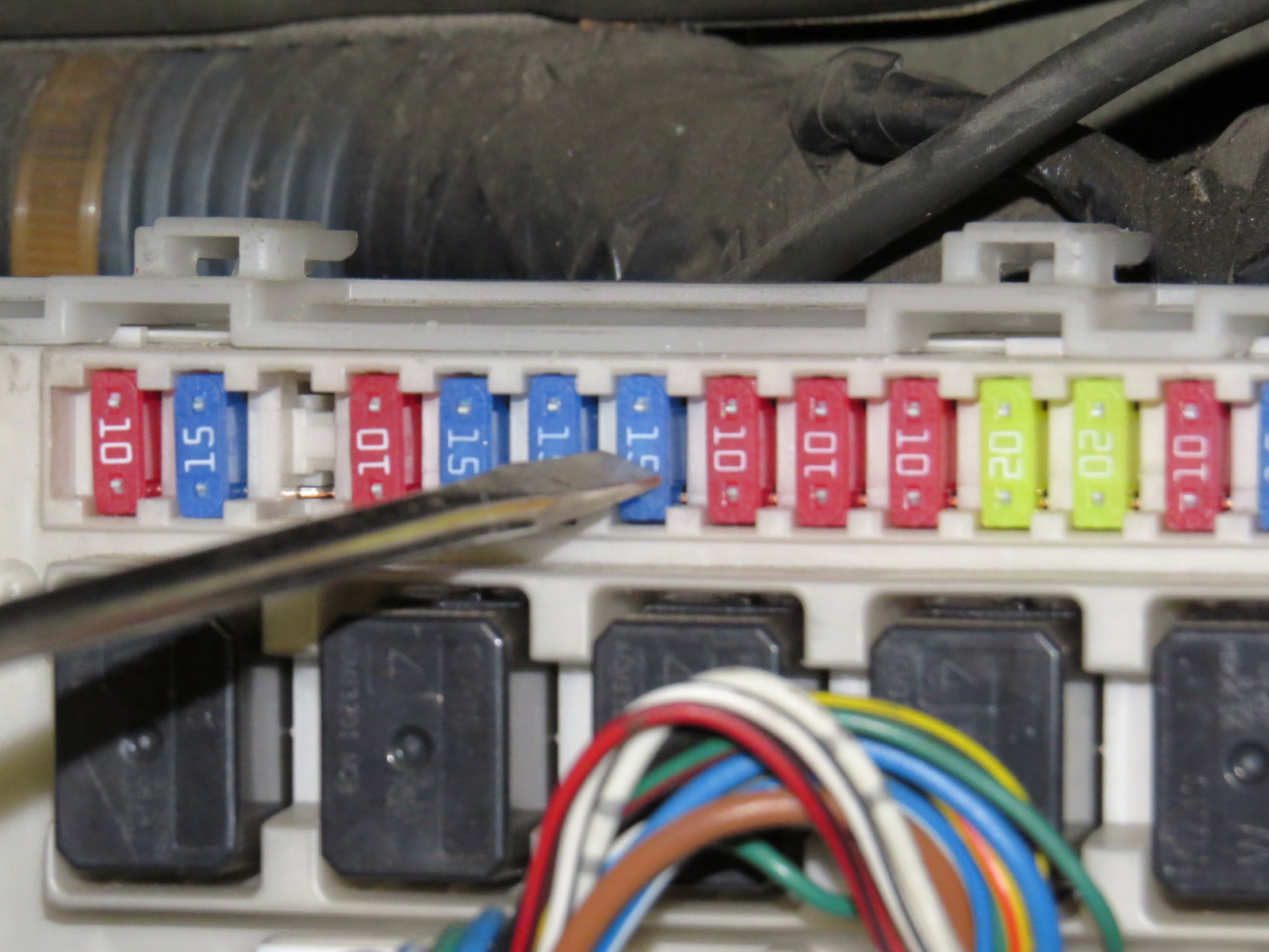 How to replace the starter Nissan Titan-img_0998.jpg