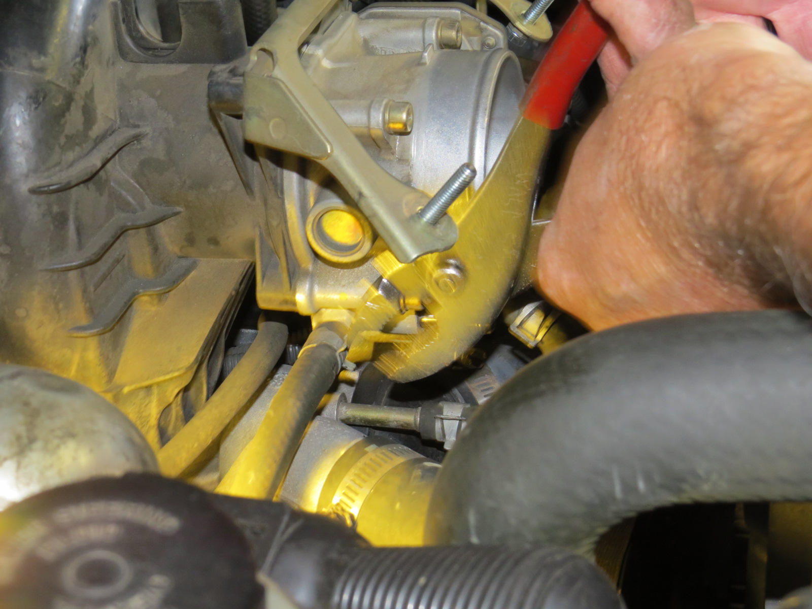 How to replace the starter Nissan Titan-img_1018.jpg