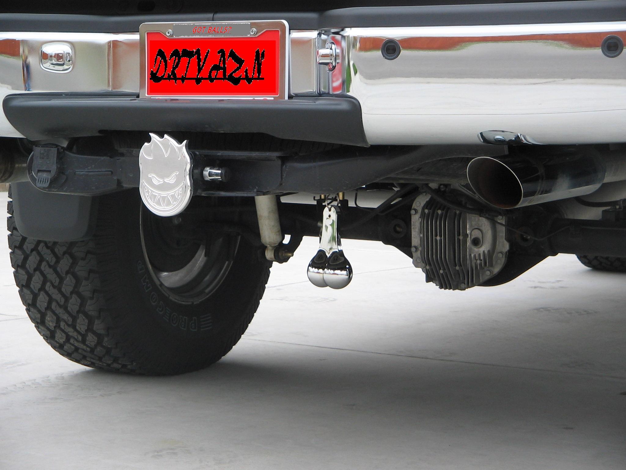 Re: Truck Nutz Installed