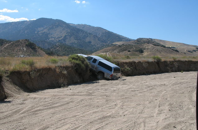 Nissan Titan Lifted >> Trip to Hungry Valley OHV Park - Pics!!!! - Nissan Titan Forum