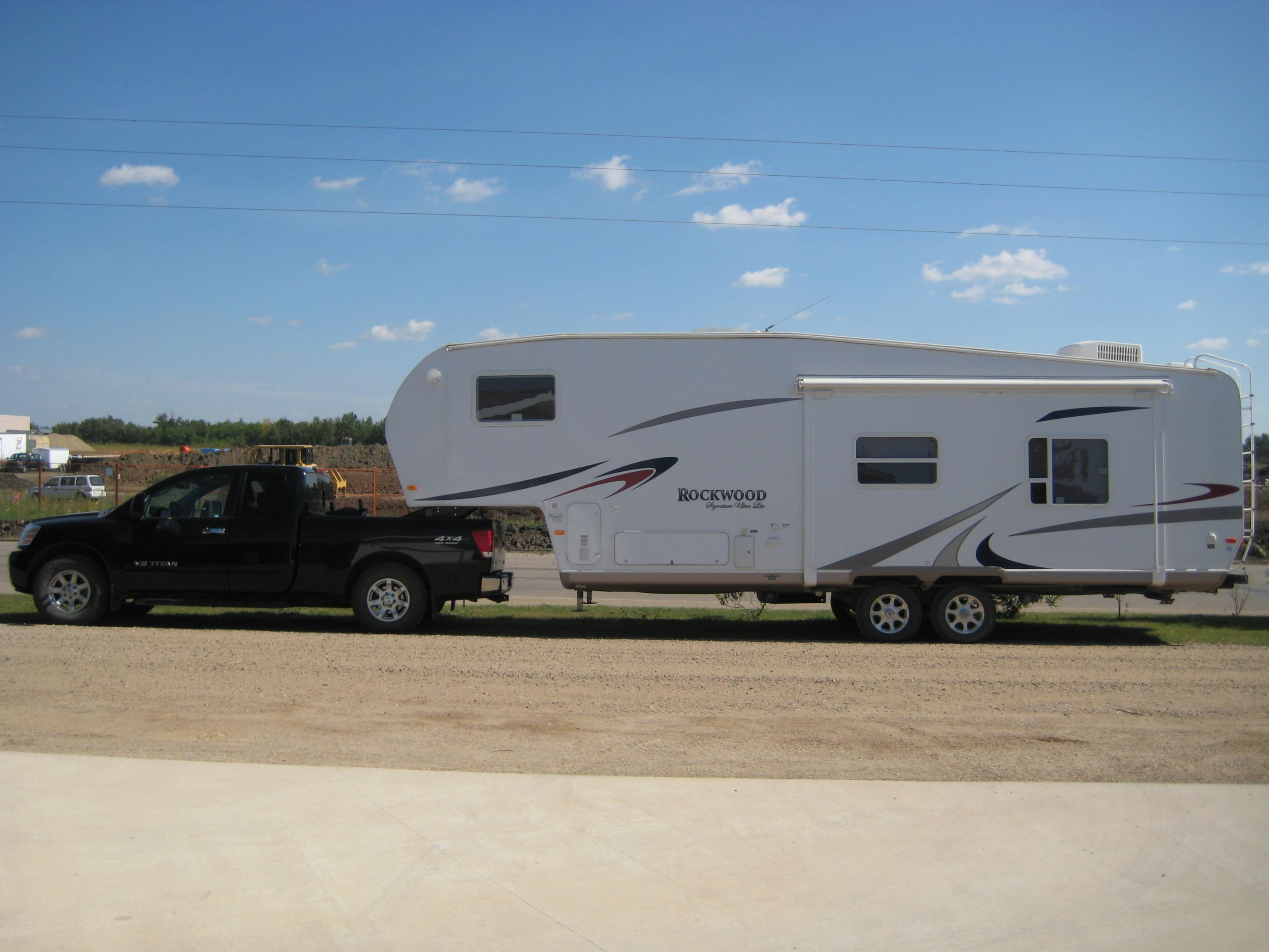 Fifth Wheel Without A Slider Nissan Titan Forum