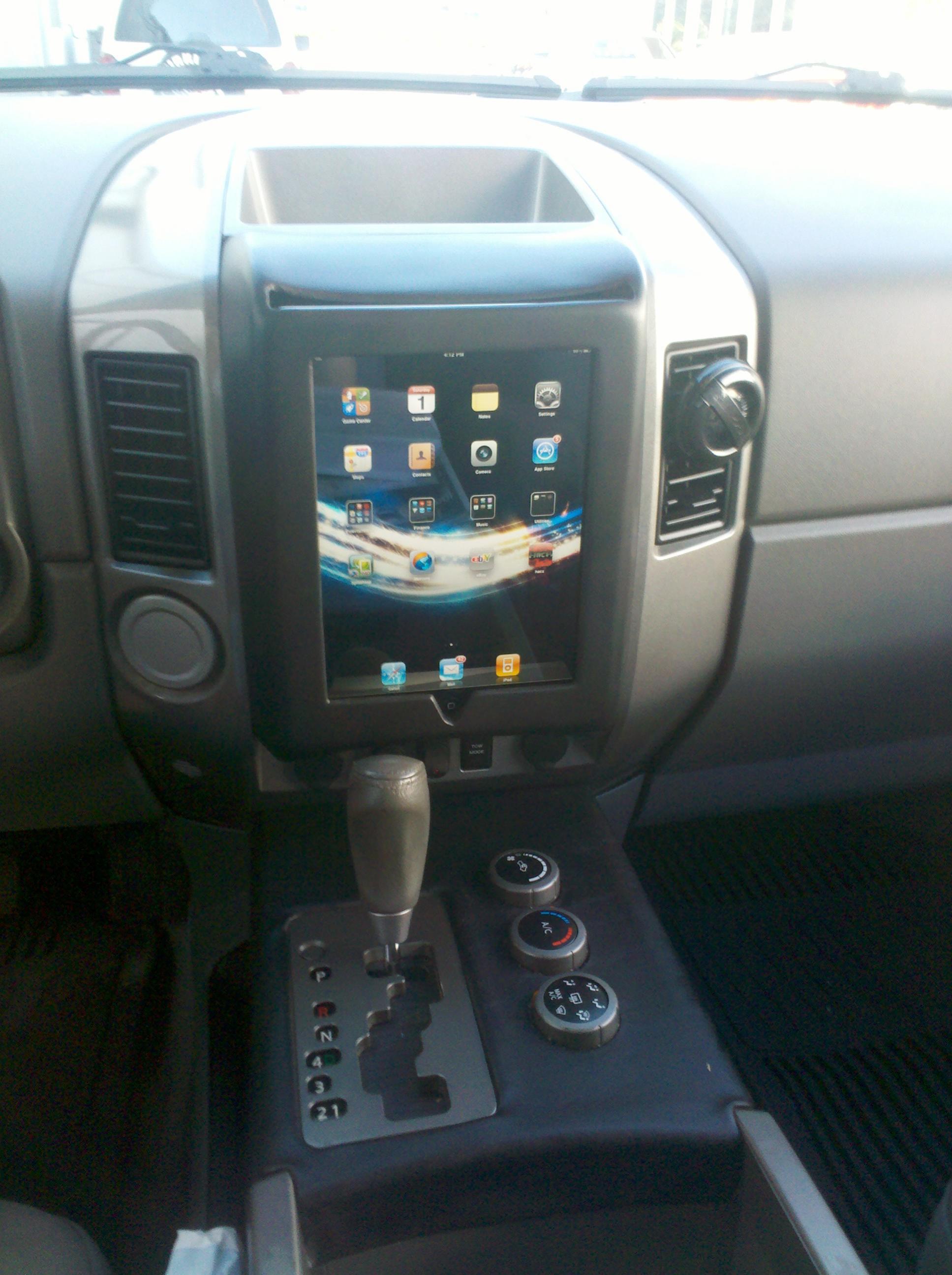 Hawk Brake Pads >> Another iPad in Dash! - Nissan Titan Forum