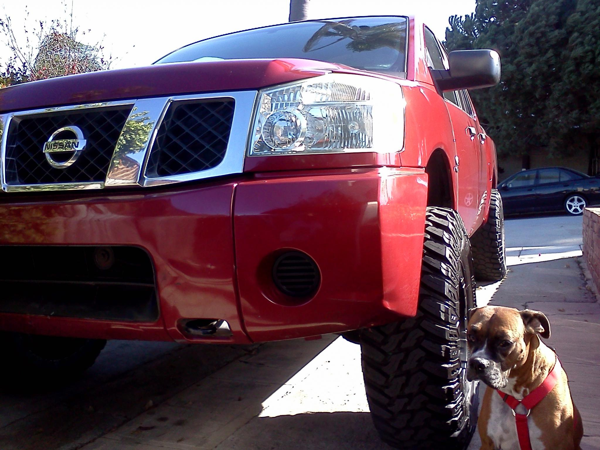 4 inch CST lift with 285/70/17 tires? - Nissan Titan Forum
