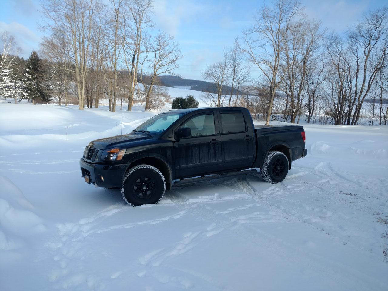 Nissan Titan Forum Titan In The Snow