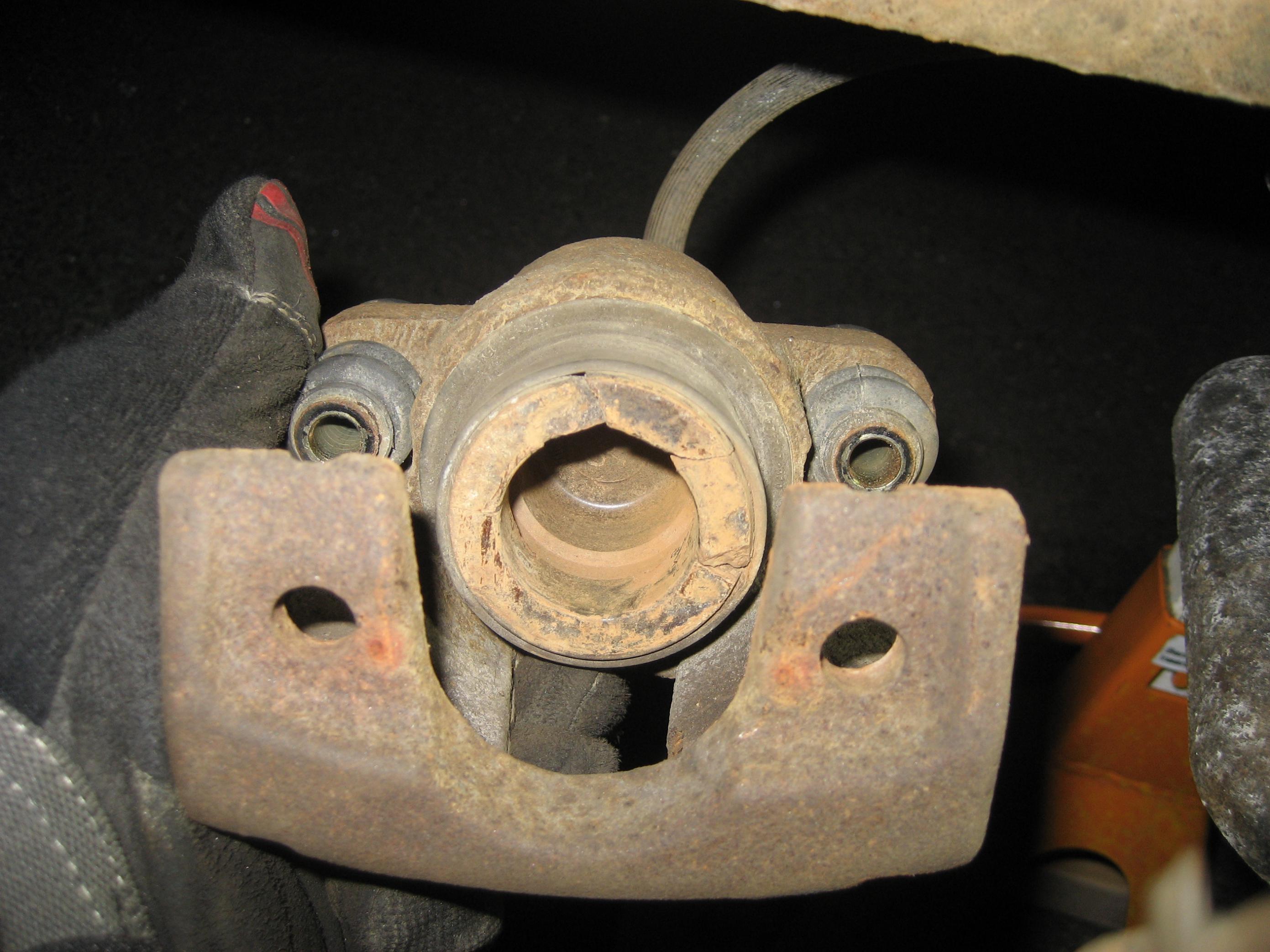Advance Auto Parts >> Caliper piston seal/boot - Nissan Titan Forum