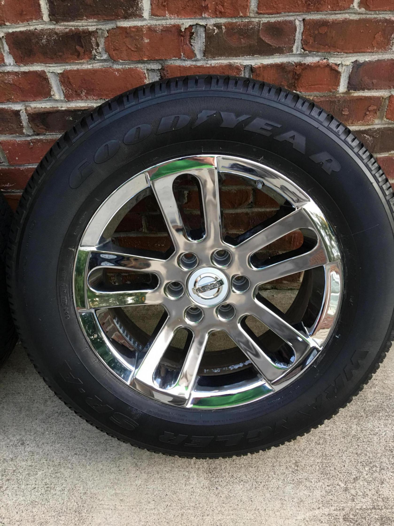 Nissan Titan Armada 20 Quot Oem Chrome Wheels Nissan Titan Forum