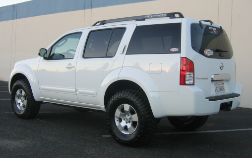Pathfinder Lift - Nissan Titan Forum