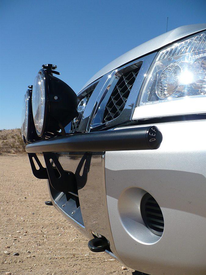 New Defiant Light Bar Nissan Titan Forum
